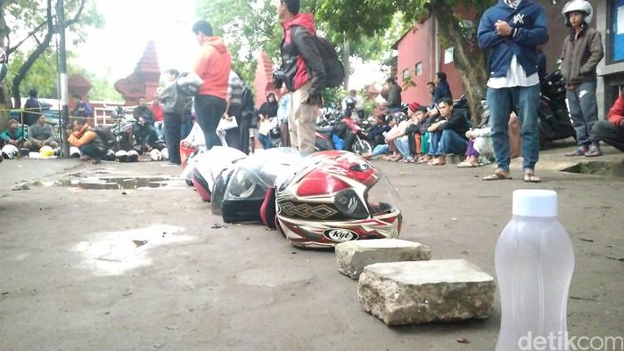 antrean e-KTP/Foto: Sudirman Wamad