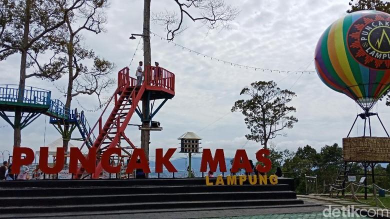 Foto: Puncak Mas Lampung (Bonauli/detikTravel)