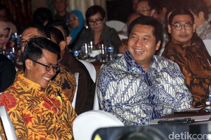 Dirjen Pajak Kementerian Keuangan, Robert Pakpahan turut hadir dalam acara tersebut dan menjadi pembicara kunci.