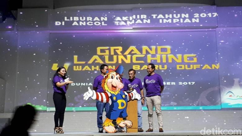 Suasana press conference (Randy/detikTravel)