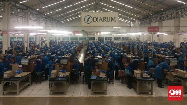 Pabrik rokok Djarum.