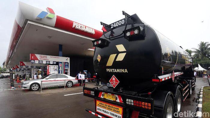 Pertamax Turbo/Foto: Rengga Sancaya