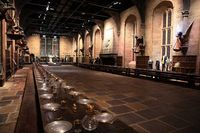 Ilustrasi Great Hall (Warner Bros. Studio Tour London)