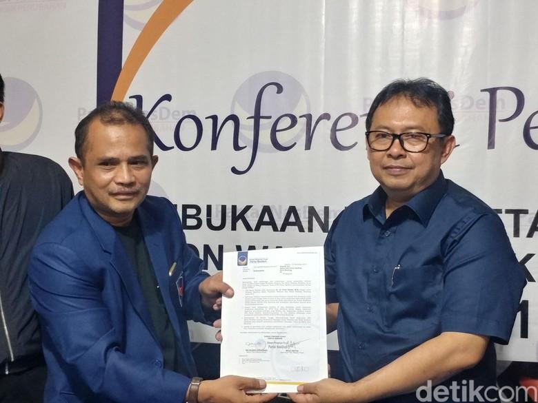 Didukung NasDem, Yossi Raih Tiket Pilwalkot Bandung 2018