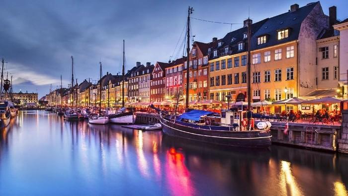 Kota Kopenhagen di Denmark