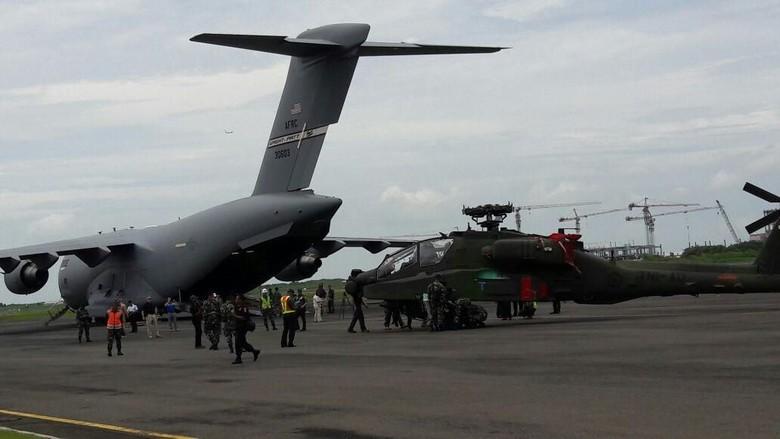 3 Heli Apache dari AS akan Tiba di Indonesia