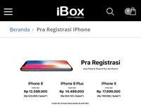 Catat! Ini Harga Resmi iPhone X dan iPhone 8 di Indonesia