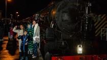 Foto: Tur Kereta The Polar Express di Dunia Nyata