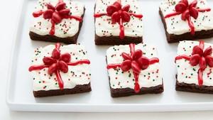 Brownies Bisa Disajikan Jadi 3 Kue Natal yang Praktis dan Cantik