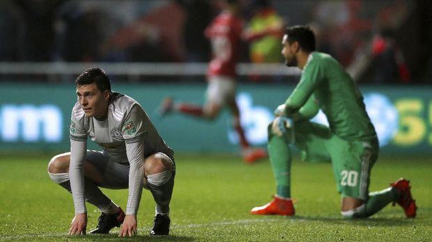 Victor Lindelof gagal menjadi pemain andalan Manchester United di lini belakang.