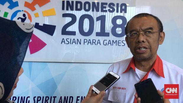 Sesmenpora Gatot S Dewabroto menyatakan masalah tuntas usai Menpora Malaysia Syed Saddiq meminta maaf. (