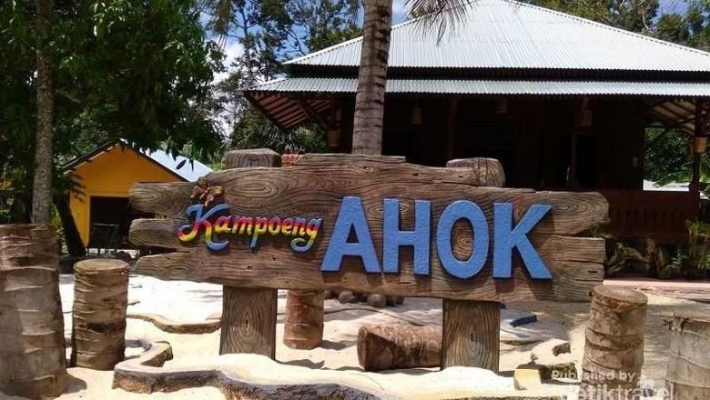 Foto: Kampoeng Ahok di Belitung Timur (Kartika Eka Hendarwanto/dTraveler)