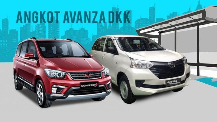 Avanza dkk Jadi Angkot