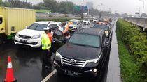 Pengemudi Mobil SUV Ditemukan Meninggal Dunia di Tol Bandara