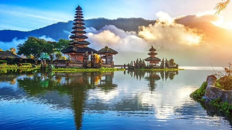 Danau Bedugul di Bali (Thinkstock)