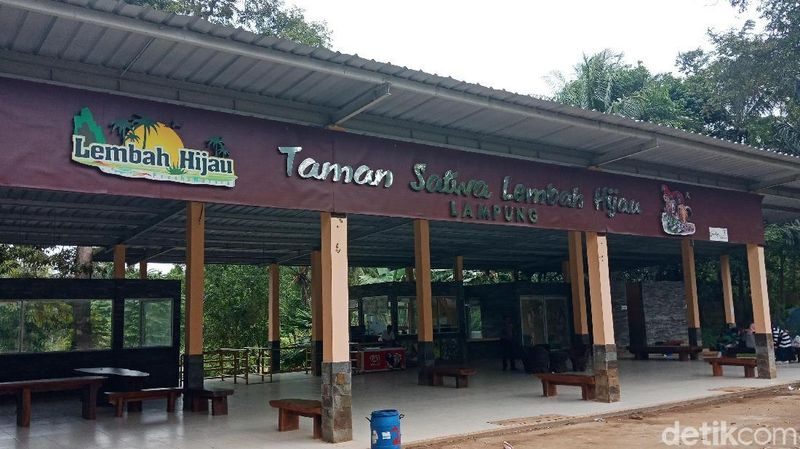 Foto: Taman Satwa Lembah Hijau ada di Jalan Raden Imba Kusuma Ratu No 21, Sukadana Ham, Kota Bandar Lampung. Tempat ini berada dekat dengan Puncak Mas (Bonauli/detikTravel)