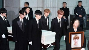 Harunya Proses Pemakaman Jonghyun SHINee