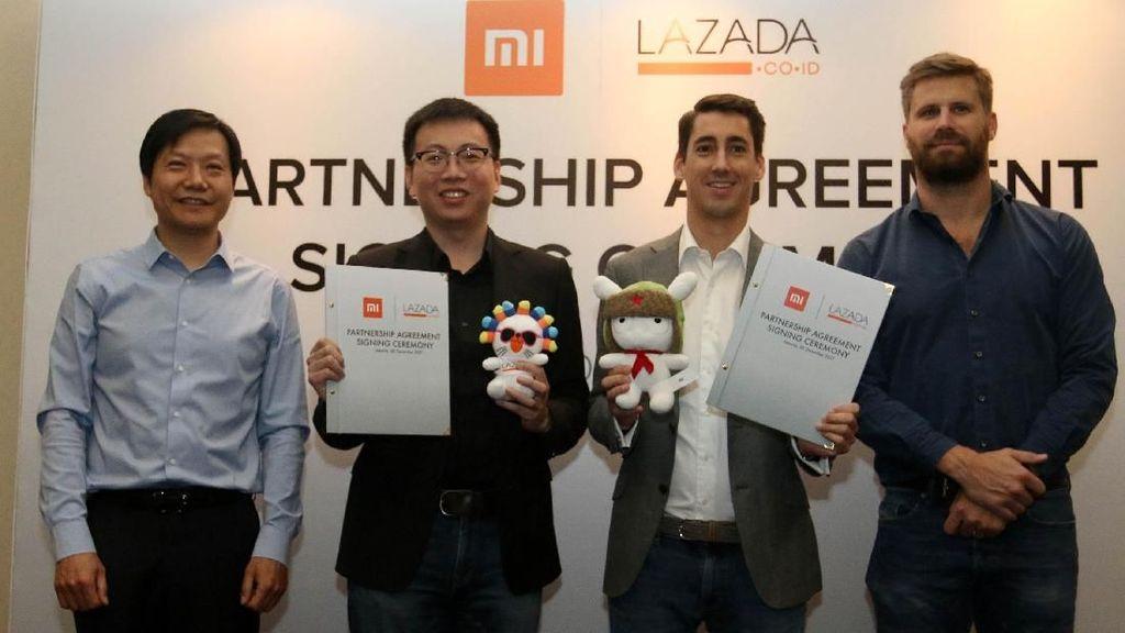 Xiaomi Gandeng Lazada Indonesia