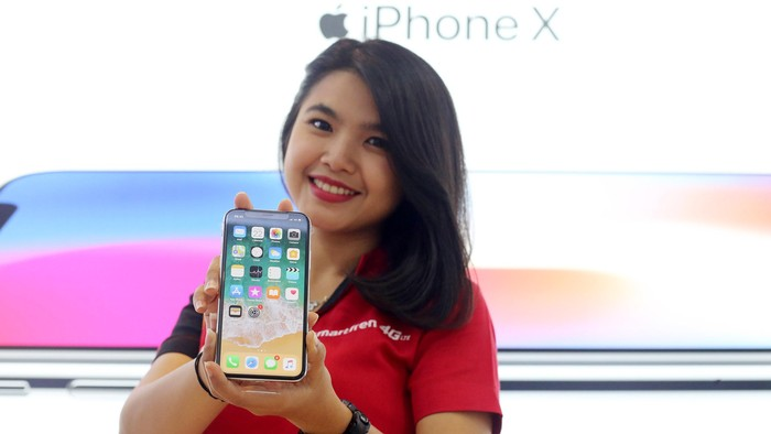 iPhone X. Foto: Ari Saputra
