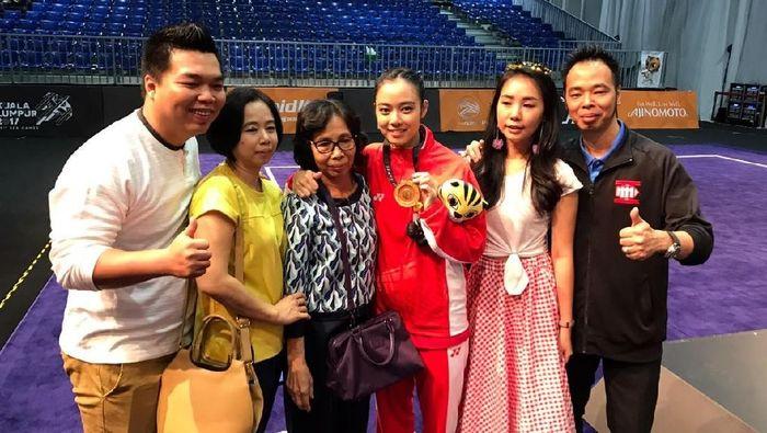 Lindswell Kwok dan keluarga (Foto: dok: Pribadi)