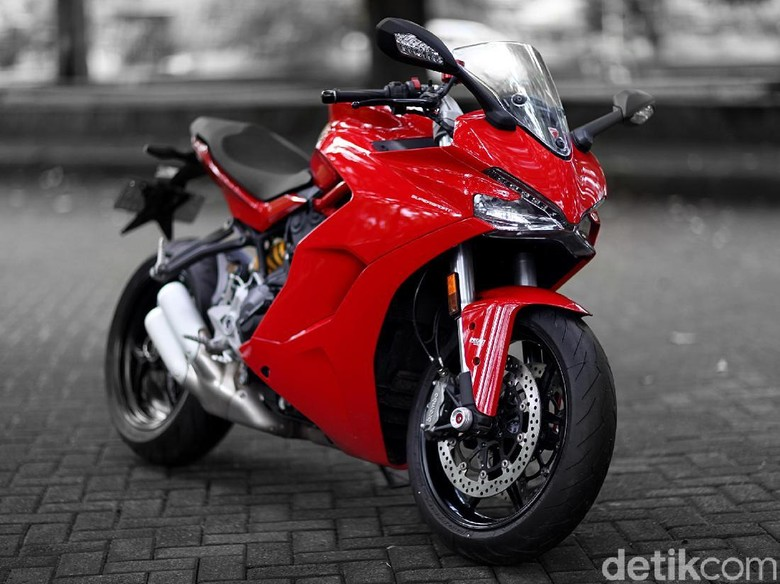 Ducati Supersport Foto: Muhammad Ridho