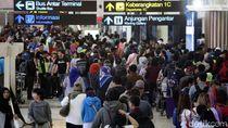 Penumpang Masa Lebaran di Bandara Soetta Capai 3 Juta Orang