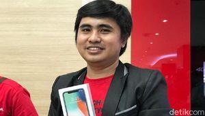 Ini Tiga Pembeli Pertama iPhone X di Indonesia