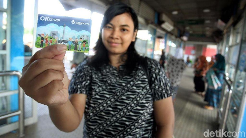 TransJakarta: OK OTrip Hanya Alternatif Pembayaran