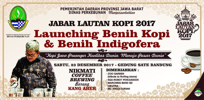 Foto: Pemprov Jabar gelar West Java Bandung Lautan Kopi