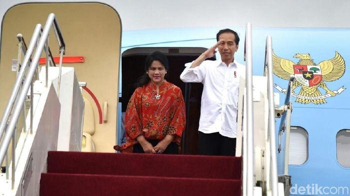 Presiden Jokowi dan Ibu Negara Iriana Jokowi/Foto: Biro Pers Setpres