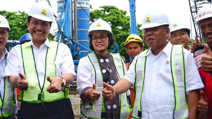 Kementerian PUPR melalui Balai Besar Pelaksanaan Jalan Nasional VIII terus memacu penyelesaian pembangunan Underpass Simpang Tugu Ngurah Rai.