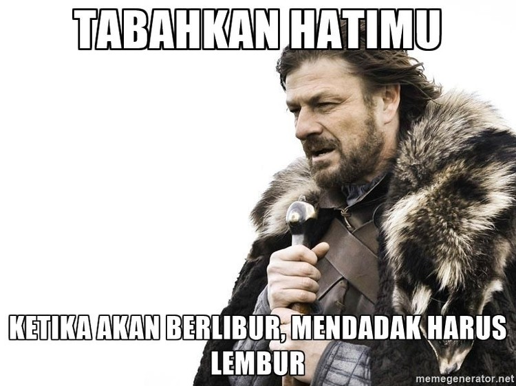 Meme Libur Panjang