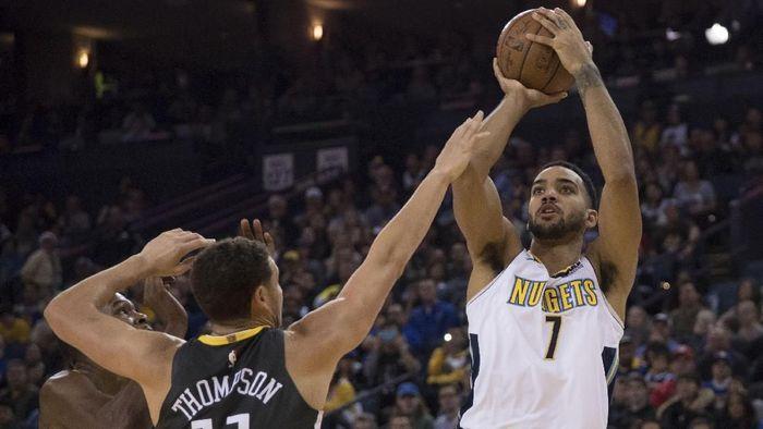 Denver Nuggets hentikan 11 kemenangan beruntun Golden State Warriors (Kyle Terada-USA TODAY Sports)