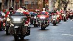 Intip Aksi Unik Santa Claus di Berbagai Belahan Dunia