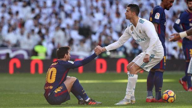 Lionel Messi mengaku rindu dengan Cristiano Ronaldo di Liga Spanyol.