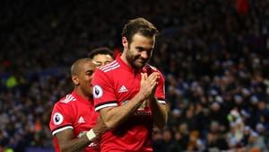 Tentang Perayaan Gol Kedua Juan Mata ke Gawang Leicester