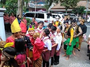 Budaya Nusantara Ditampilkan dalam Perayaan Natal di Boyolali