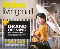 Promo Perabotan Rumah Tangga di Index Living Mall Graha Bintaro