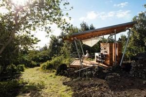 Rumah Alam, Dibangun di Atas Bekas Aliran Lava