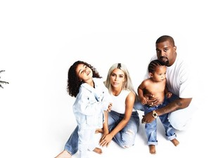Selamat! Kim Kardashian dan Kanye West Sambut Anak Ketiga