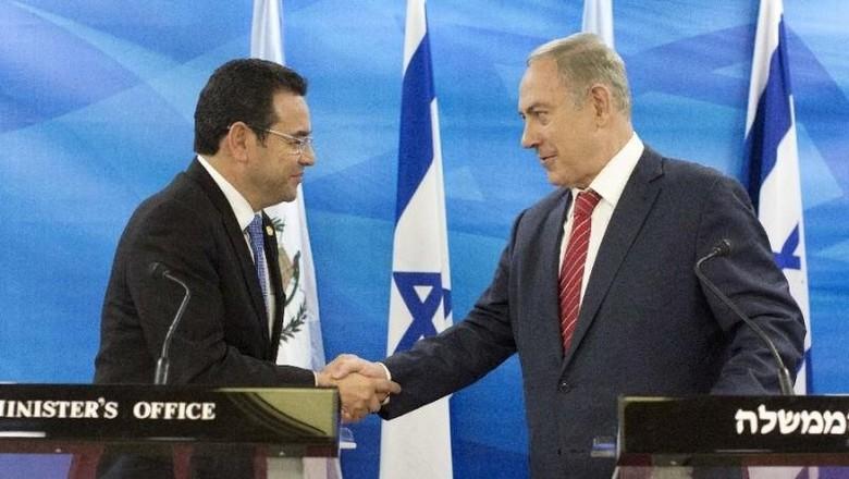 Israel Puji Guatemala yang Ikut AS Pindahkan Kedutaan ke Yerusalem