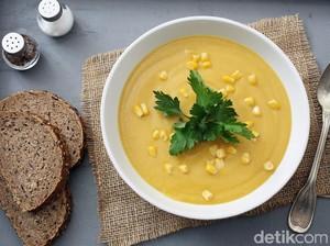 Sup Jagung Telur yang Gurih dan Tidak Amis