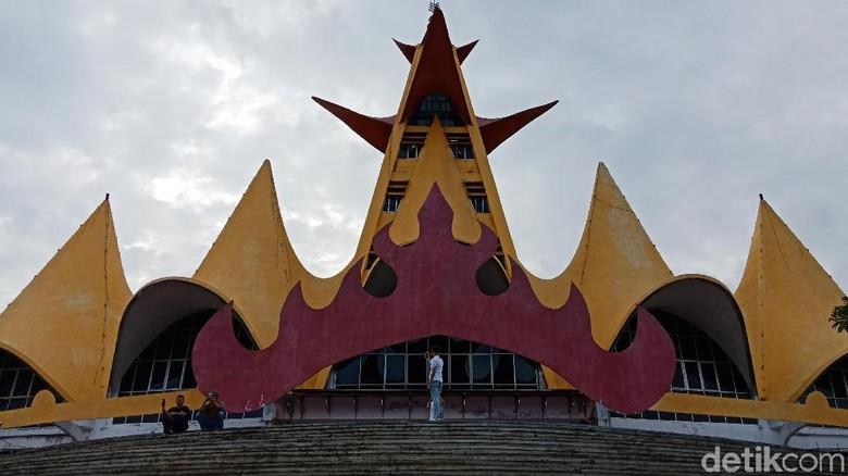 Menara Siger (Bonauli/detikTravel)