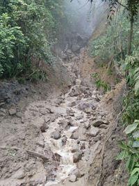 Longsor, Jalur Pendakian Gunung Pulosari Ditutup