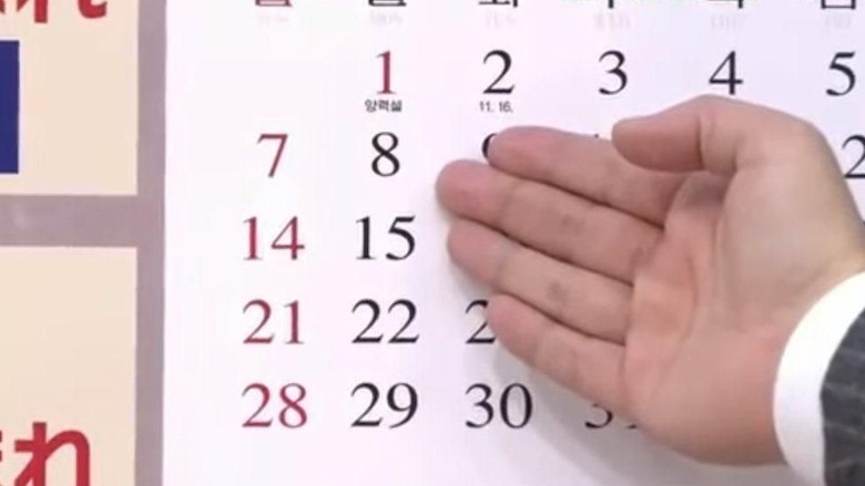 Ilustrasi kalender (BBC Magazine)