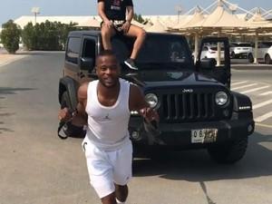 Ngeri, Olahraga Patrice Evra Tarik Jeep Renegade
