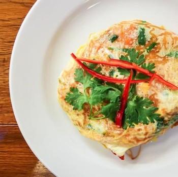 Resep Mie: Omelet Mie