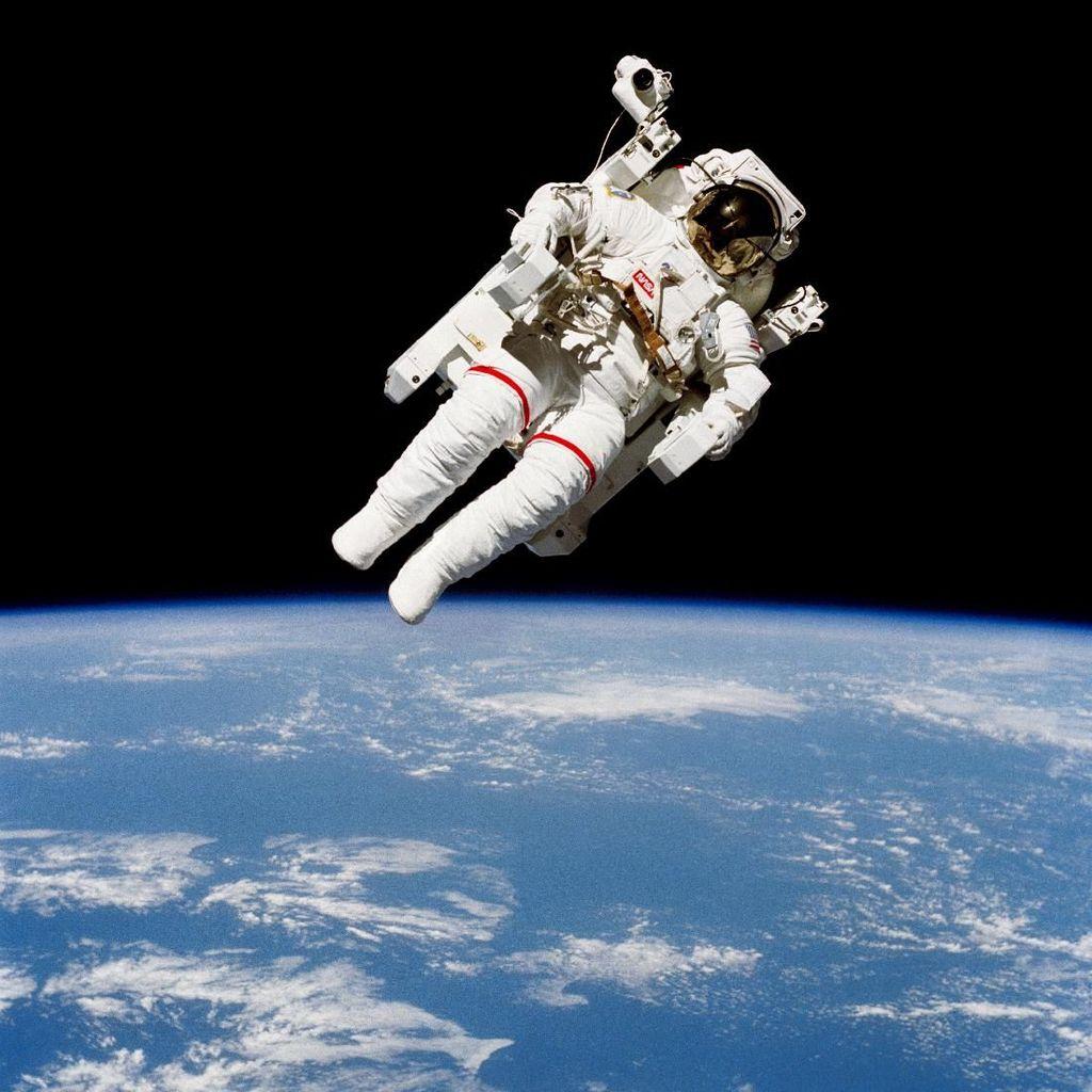 Sebelum Hazza Al Mansouri, Ini Astronaut Arab yang ke Luar Angkasa