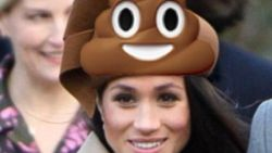 Ups! Netizen Ramai Topi Meghan Markle Saat Natal Mirip Emoji