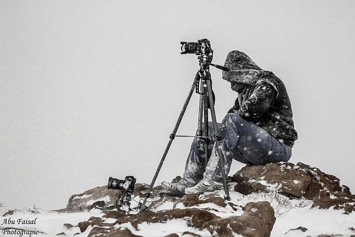 Ilustrasi memotret di suhu dingin. Foto: Internet
